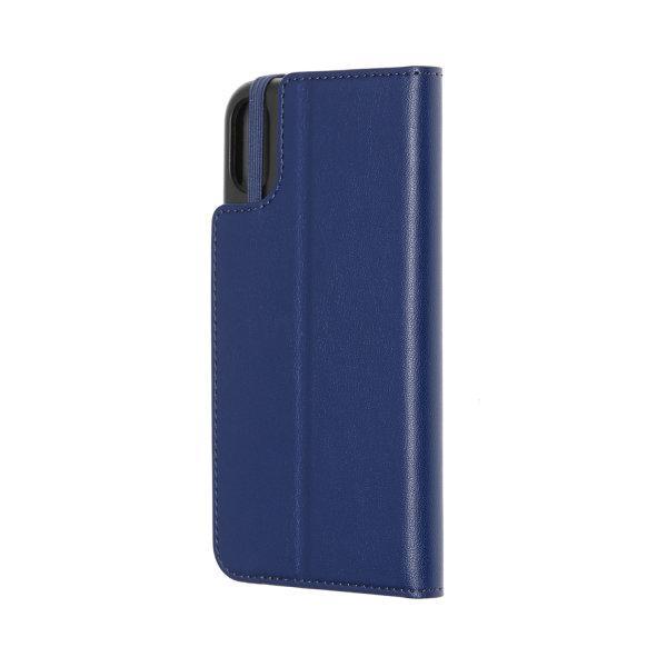 MOLESKINE CLASSIC BOOKTYPE CASE iPHONE XS MAX - READING -  SAPPHIRE BLUE