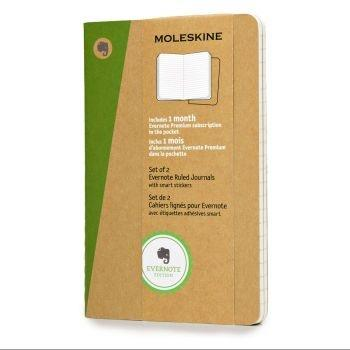 Moleskine Evernote Journals Pkt Ruled Skqp411Ever