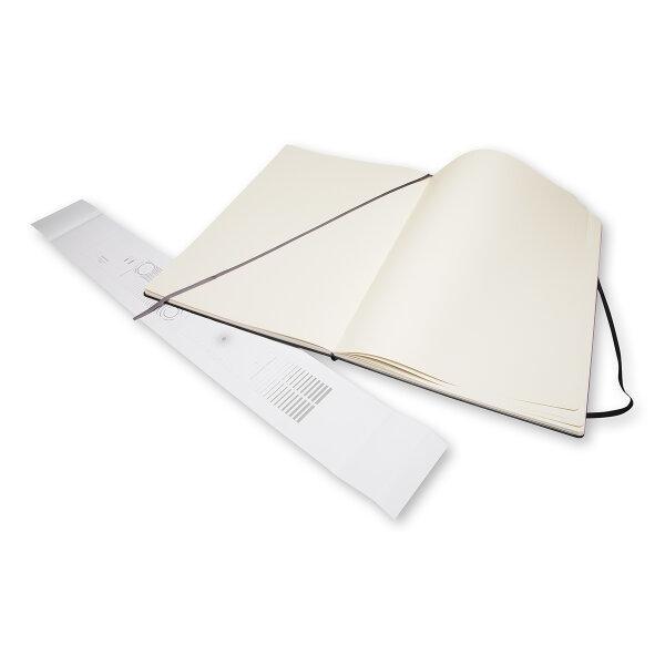 Moleskine สมุดสเก็ตซ์ภาพ ปกแข็ง สีดำ MOLESKINE SKETCHBOOK HARD COVER BLACK