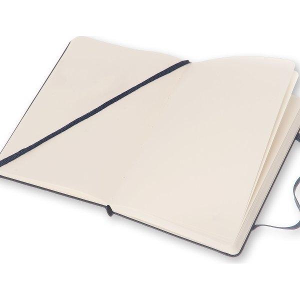 Moleskine สมุดบันทึก ปกแข็ง สีน้ำเงิน ขนาดเล็ก 9x14 ซม MOLESKINE NOTEBOOK POCKET HARD COVER SAP.BLUE 9X14 CM
