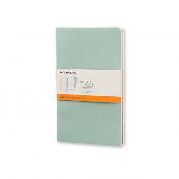 Moleskine Volant Journal Ruled Large Sage Green/Seaweed Green