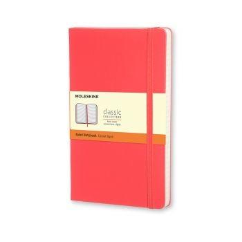 Moleskine Notebook Pkt Ruled Geranium Red Hard Cover Mm710F14