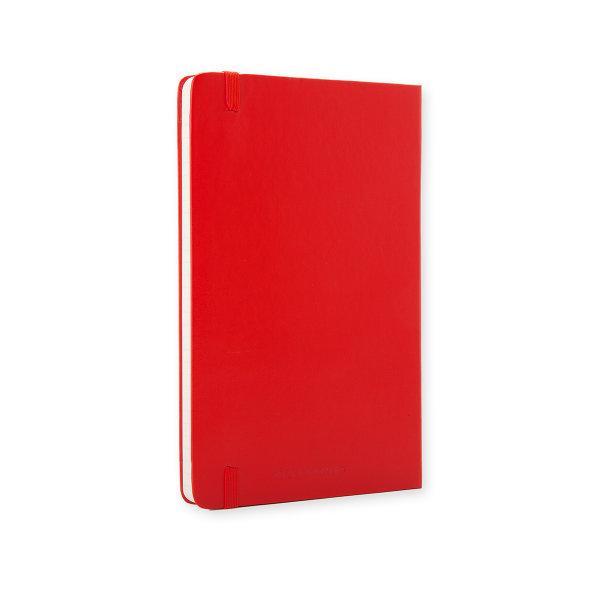 Moleskine สมุดบันทึก ปกแข็ง สีแดง ขนาดใหญ่ 13x21 ซม MOLESKINE NOTEBOOK LARGE HARD COVER S.RED 13x21 CM