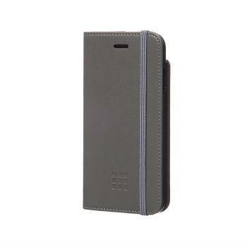MOLESKINE CLASSIC ORIGINAL BOOKTYPE CASE iPHONE 7/7s GREY