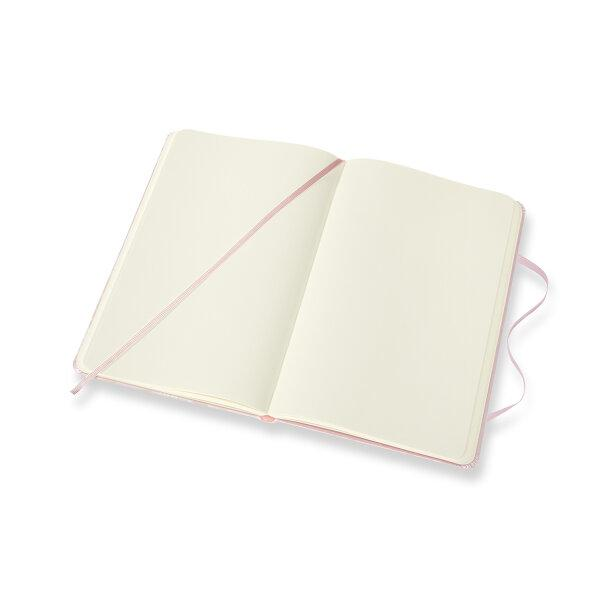 Moleskine สมุดบันทึก ผ้าไหม รุ่นลิมิเต็ด ซากุระ ขนาด 13x21 ซม MOLESKINE LIMITED EDITION NOTEBOOK SAKURA LARGE 13X21 CM