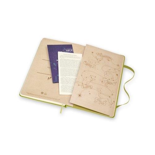 Moleskine สมุด Le Harry Potter เล่มใหญ่มีเส้น เขียว #03
