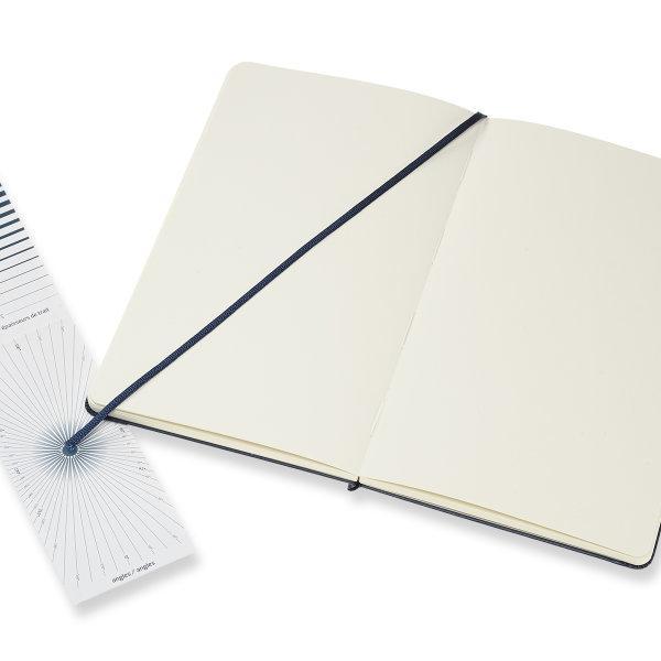 Moleskine สมุดสเก็ตซ์ภาพ ปกแข็ง สีน้ำเงิน MOLESKINE SKETCHBOOK HARD COVER SAP.BLUE