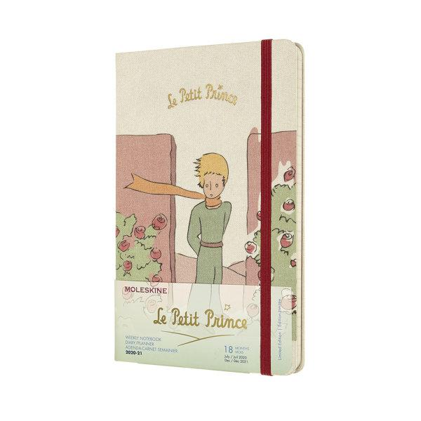MOLESKINE 18-MONTHS PETIT PRINCE WEEKLY NOTEBOOK LARGE ROSE