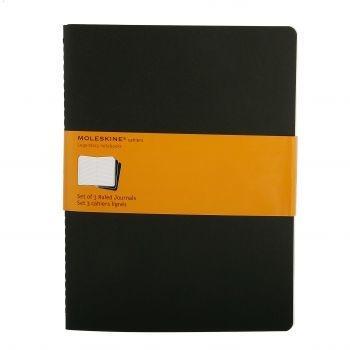 Moleskine Cahier Journals Xl Ruled Black Qp321