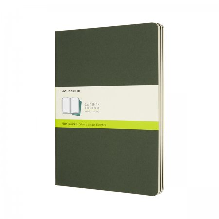 MOLESKINE CAHIER JOURNALS XL PLAIN MYRTLE GREEN CH023K15