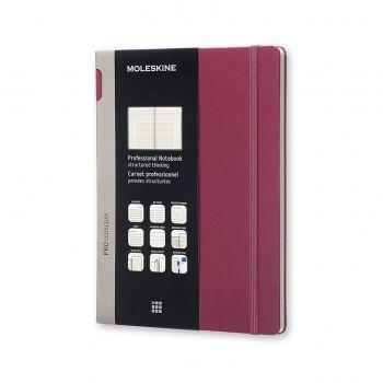 Moleskine Professional Notebook Extra Large Hard Plum Purple