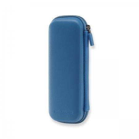 MOLESKINE JOURNEY PEN POUCH HARD STEEL BLUE