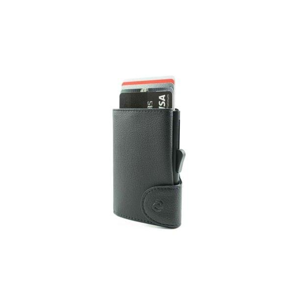 C-SECURE RFID Classic Wallet Black/ Black Card holder