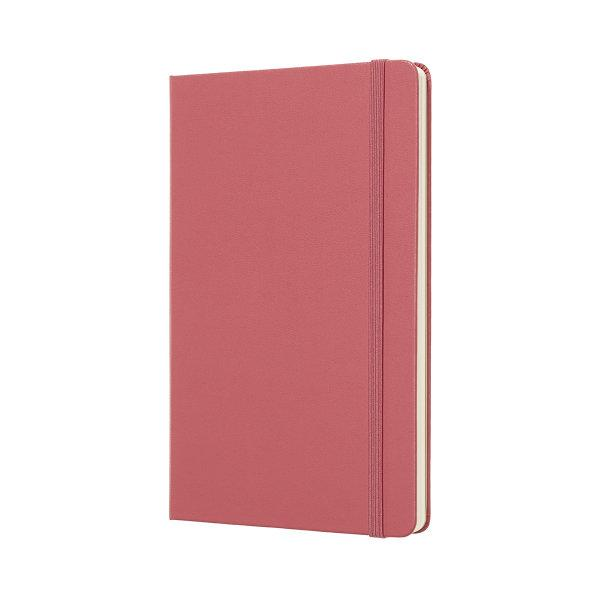 Moleskine สมุดบันทึก ปกแข็ง สีชมพู ขนาดใหญ่ 13x21 ซม MOLESKINE NOTEBOOK LARGE HARD COVER D.PINK 13X21 CM