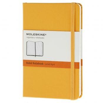 Moleskine Notebook Pkt Ruled Yellow Hard Cover Mm710M2