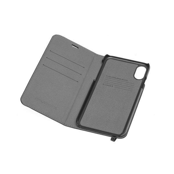 MOLESKINE CLASSIC BOOKTYPE CASE iPHONE XS MAX - READING - BLACK