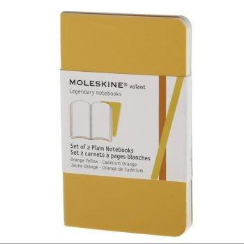 Moleskine Volant Notebooks Xs Plain Yellow Qp703N12