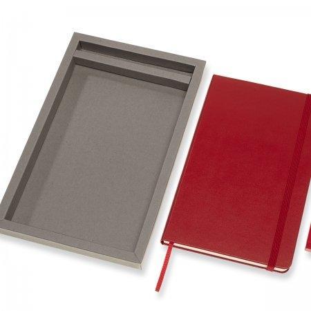 BUNDVLGF2 NOTEBOOK & PEN 0.7 VERTICAL SET LARGE SCARLET RED