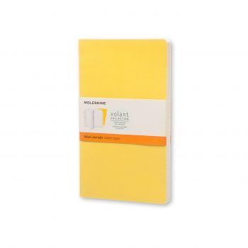 Moleskine Volant Journal Ruled Large Sunflower Yellow/Brass Yellow