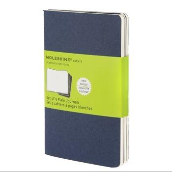Moleskine Cahier Journals Pkt Plain Navy Ch213