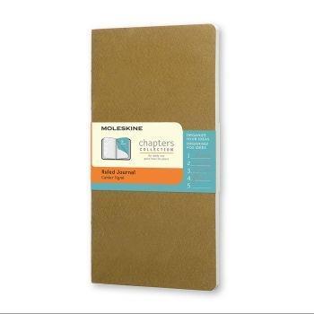 Moleskine Chapters Pocket Ruled Tawny Olive Cpt021K10