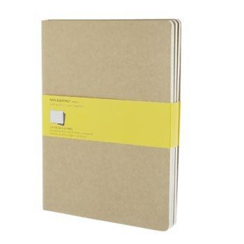 Moleskine Cahier Journals Xl Squared Kraft Qp422V