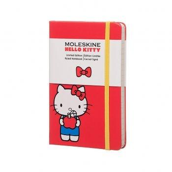 MOLESKINE HELLO KITTY CONTEMPORARY LIMITED ED. 2016 NOTEBOOK RULED POCKET HARD COVER