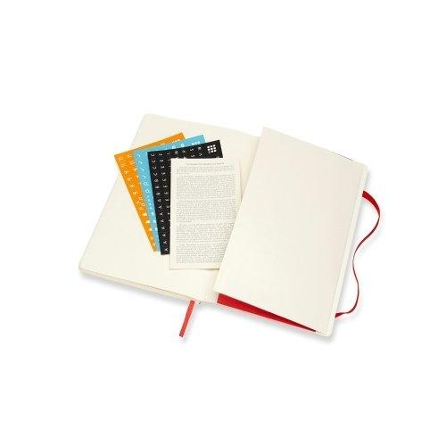 DHF218WN3Y20 MOLESKINE PLANNER 18M WEEKLY NOTEBOOK LARGE RED HARD COVER