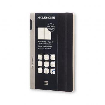 Moleskine Professional Notebook Large Soft Black