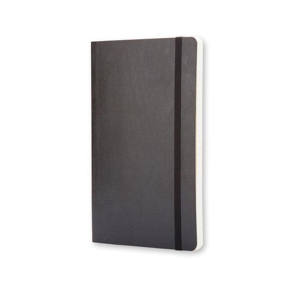 Moleskine สมุดบันทึก ปกอ่อน สีดำ ขนาดเล็ก 9x14 ซม MOLESKINE NOTEBOOK POCKET SOFT COVER BLACK 9X14 CM