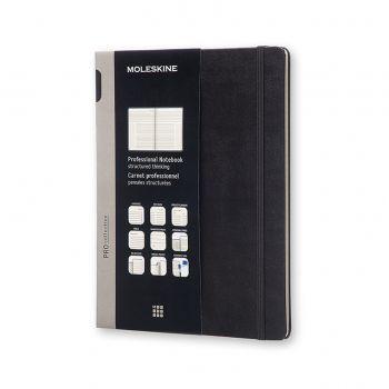 Moleskine Professional Notebook Extra Large Hard Black