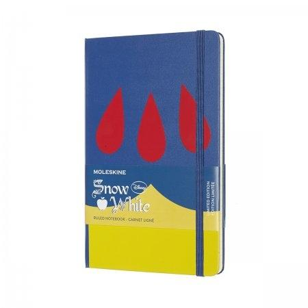 MOLESKINE LIMITED EDITION NOTEBOOK SNOW WHITE LARGE RULED DRESS
