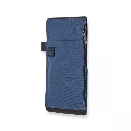 MOLESKINE ID TOOL BELT VERTICAL LARGE BOREAL BLUE