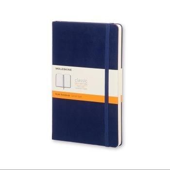 Moleskine Notebook Pk Ruled Prussian Blue Hard Cover Mm710B1