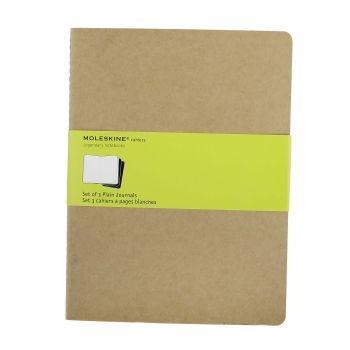 Moleskine Cahier Journals Xl Plain Kraft Qp423