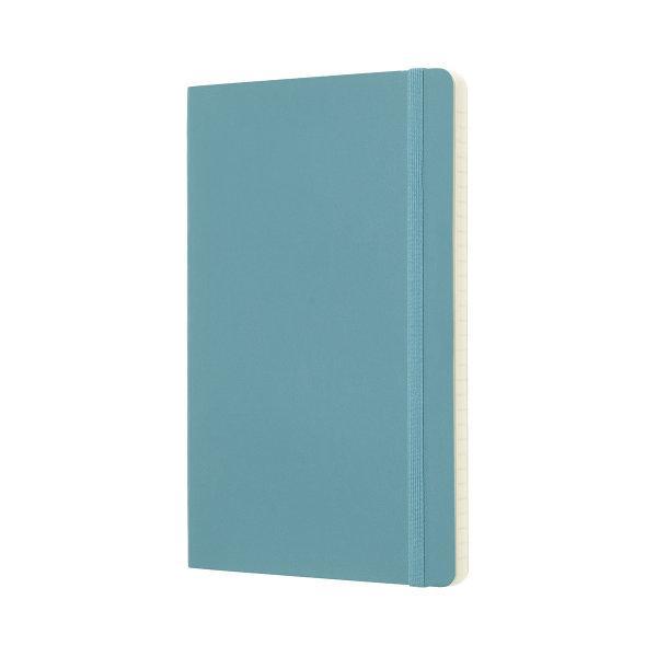 Moleskine สมุดบันทึก ปกอ่อน สีฟ้า ขนาดใหญ่ 13x21 ซม MOLESKINE NOTEBOOK LARGE SOFT COVER R.BLUE 13X21 CM