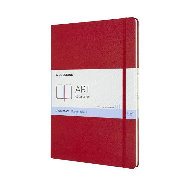 ARTBF832F2 Art Sketchbook A4 Scarlet Red