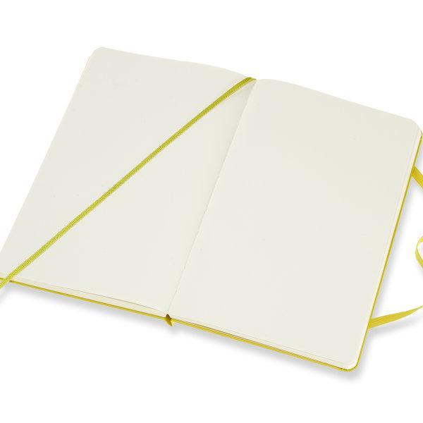 Moleskine สมุดบันทึก ปกแข็ง สีเหลือง ขนาดใหญ่ 13x21 ซม MOLESKINE NOTEBOOK LARGE HARD COVER D.YELLOW 13X21 CM
