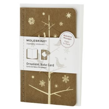 Moleskine Ornament Card Pocket - Mockingbirds