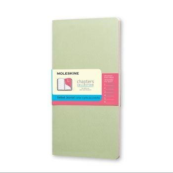 Moleskine Chapters M Dotted Mist Green Cpt064K9