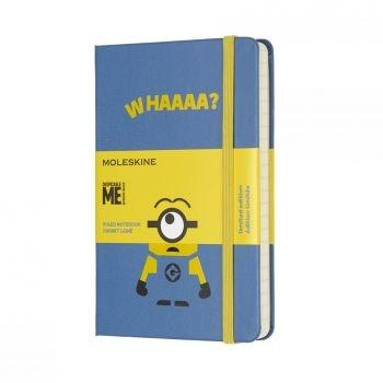 MOLESKINE LIMITED EDITION NOTEBOOK MINIONS POCKET RULED B29 BLUE