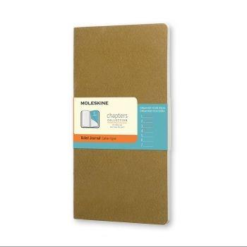 Moleskine Chapters Lg Ruled Tawny Olive Cpt031K10