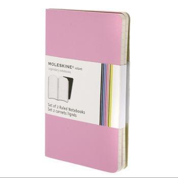 Moleskine Volant Notebooks Pkt Ruled Pink Qp711D12