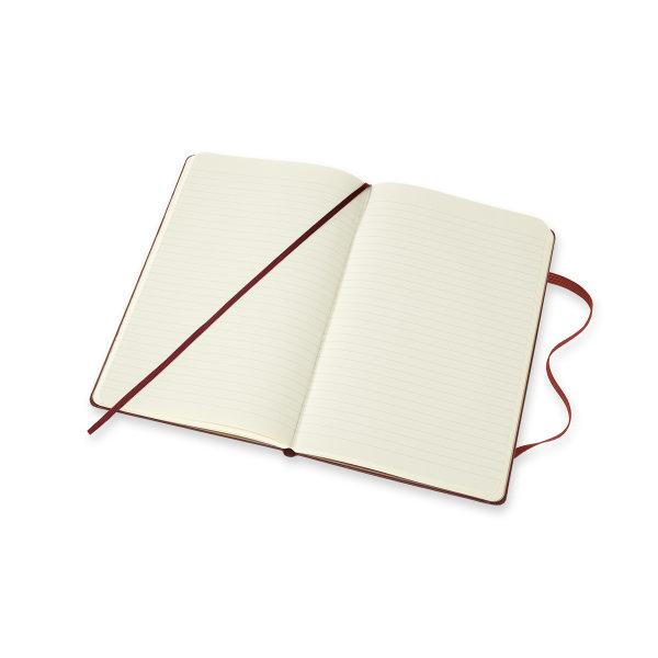 Moleskine Limited Edition Notebook Harry Potter Lg Ruled Bordeaux Red #6
