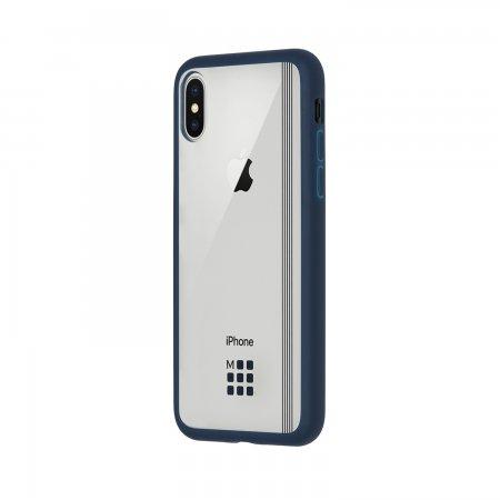 MO2HPXEB1 MOLESKINE TPU HARD CASE IPHONEX ELASTIC BLUE
