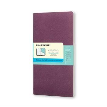 Moleskine Chapters M Dotted Plum Purple Cpt064H8