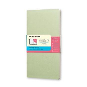 Moleskine Chapters Pocket Dotted Mist Green Cpt024K9