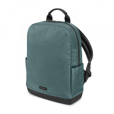 MOLESKINE กระเป๋า BACKPACK รุ่น  NYLON RIPSTOP สีเขียว Hazeazure