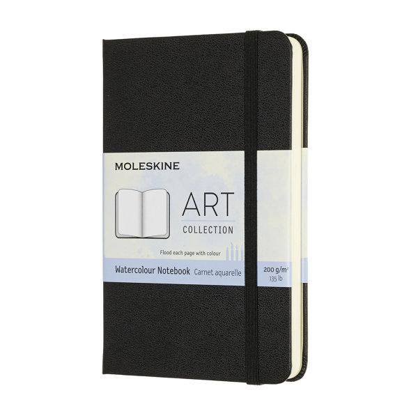 ARTMM805 Art Watercolour Notebook Pocket Black