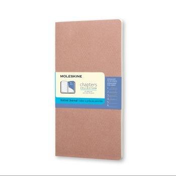Moleskine Chapters M Dotted Old Rose Cpt064D4